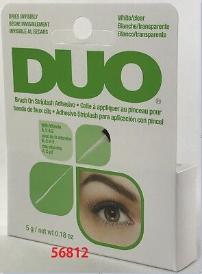Ardell Duo Brush On Striplash Adhesive - CLEAR + Free Shipping ( 56812 )