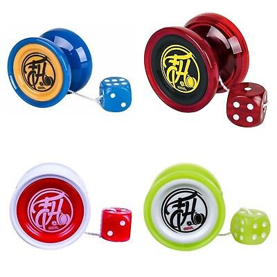 Duncan Freehand Yo Yo With Counterweight + 3 Neon Strings YELL/ORG/GRN