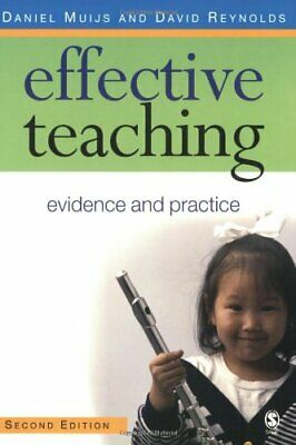 Effective Teaching: Evidence and Practice by Reynolds, David Paperback Book The