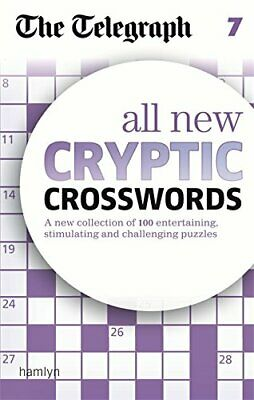 The Telegraph: All New Cryptic Crosswords 7 (The Tele... by THE TELEGRAPH MEDIA
