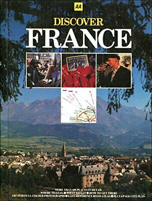 Discover France by Anon Hardback Book The Cheap Fast Free Post