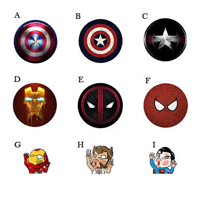 Popsocket Phone Grip Stand Holder Captain America Deadpool Iphone Samsung