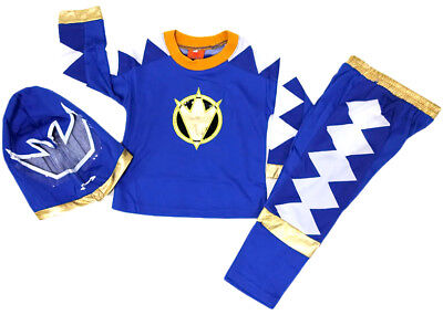 NEW Size 2~12 KIDS COSTUME POWER RANGERS BOYS DRESS UP PARTY SUPERHERO TOP TOYS