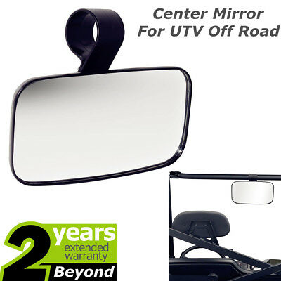 Center Mirror FIT Universal UTV Off Road Large Adjustrable Wide Rear Clear View
