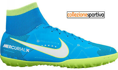 huge selection of 2cda7 c4ac8 SCARPE CALCETTO NIKE MERCURIALX VICTORY VI DF NEYMAR TF- 921514-400  col.azzurro