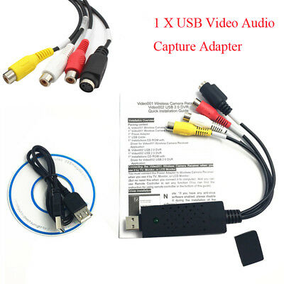 New Arrival USB 1Channel 3Chips Acquisition Card Video Capture Card Surveillance