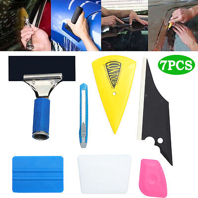 7IN1 Professional Window Tinting Tools Kit, Auto Car Application of Tint Film AU