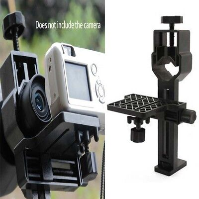 Universal Digital Camera Adapter Stand Mount for Telescope Spotting Scope New