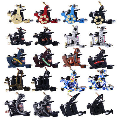 Complete Tattoo Kit Professional Tattoo 2 Machine Rotary Set GUN 6 Colors Ink