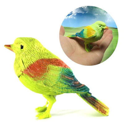 Cute Bird Singing Voice Sound Control Activated Toys Talking Parrot Pet Gifts