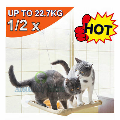 Cat Window Mounted Bed Seat Pets Sunny Wall Home Hammock Cover Hanging Washable