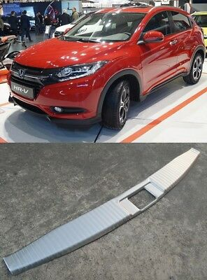Honda Hr-V Hrv 2016-2018 Inner Rear Bumper Protector Guard Trim Cover Sill