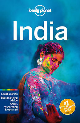 Lonely Planet India Travel Guide 2017 BRAND NEW 9781786571441