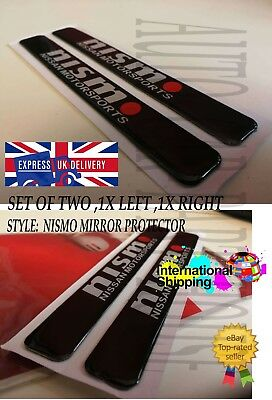 Nissan Nismo Decal Sticker Car Rearview Mirror Anti-collision Edge Protector