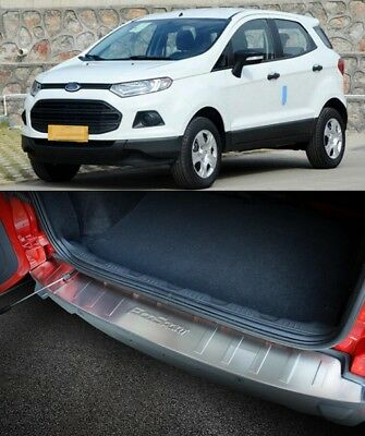 Ford Ecosport 2013-2017 Outer REAR BUMPER PROTECTOR GUARD TRIM COVER SILL PLATE