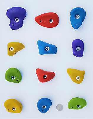 Rock Climbing Holds, Kids Cubby House, 12 Holds. Made By X-Es Climbing Holds.