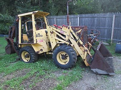 backhoe 4x4 extend a hoe Ford New holland