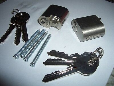 Scandinavian oval lock cylinder barrel suits assa/ruko 6 keys in total 6 pin