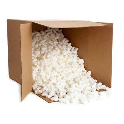 Particules Calage Polystyrene Emballage Chips Flowpack En Carton 100 L Pelaspan
