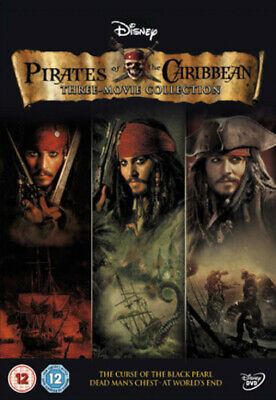 Pirates of the Caribbean Trilogy DVD (2011) Keith Richards