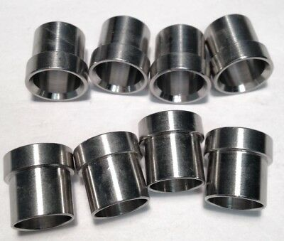 """8-Pack Parker 6 TX SS Stainless Steel 3/8"""" JIC Sleeve Hydraulic Fitting NEW"""