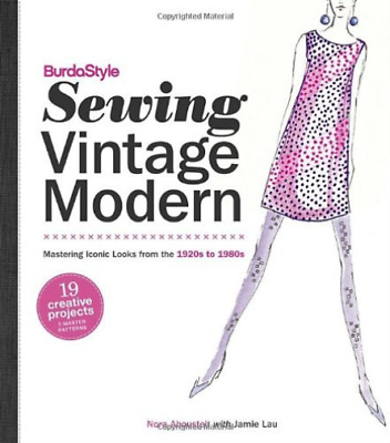 Nora Abousteit With Jamie-Burdastyle Sewing Vintage Modern  BOOK NEU