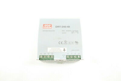 Mean Well Drt-240-48 Power Supply 400-500V-Ac 48V-Dc 5A 240W D584476