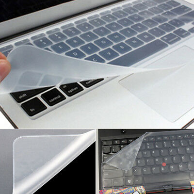 "Universal Keyboard Protector Silicone Skin Cover For 15"" Laptop PC Notebook"