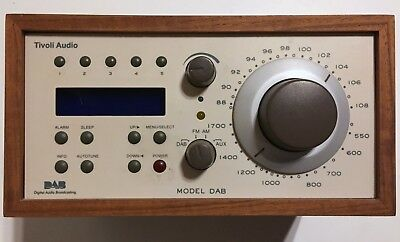 Tivoli Audio Model Two Radio FM AM DAB (no DAB+)