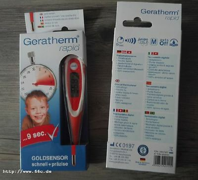 Digitaler Fieberthermometer Geratherm Rapid