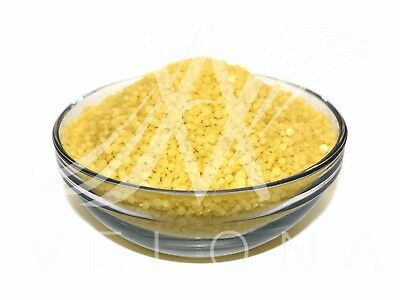 100% PURE PREMIUM YELLOW BEESWAX BEES WAX PASTILLES BEARDS Cosmetic Filtered