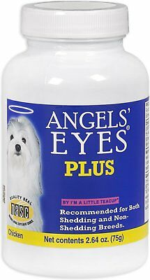 Angels' Eyes Plus Chicken Flavor Helps Eliminate Tear Stains 75g