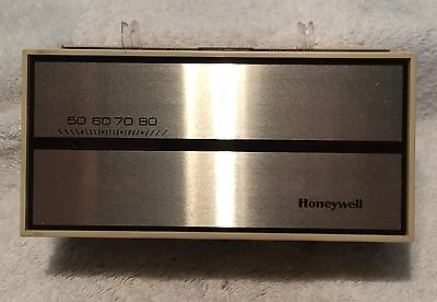 Honeywell T874C 1000 Heat-Cool Thermostat 24v Control 2 Stage Heat 1 Stage Cool