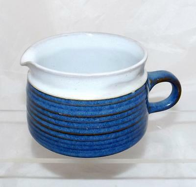 Denby Pottery Chatsworth Pattern Milk Jug made in Stoneware