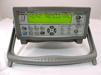 Agilent 53150A CW Microwave Frequency Counter, 20GHz - 90 Day Warranty