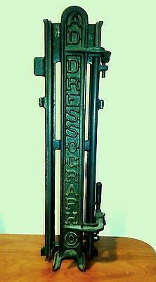 Vintage Addressograph Advertising, Machine Part, Steampunk
