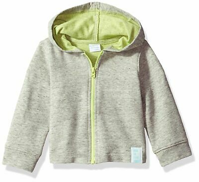 Robeez Baby Hooded Knit Jacket, Heather Grey, 9 Mo