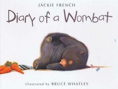 NEW Diary Of A Wombat By Jackie French Hardcover Free Shipping