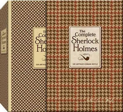NEW The Complete Sherlock Holmes By Sir Arthur Conan Doyle Hardcover