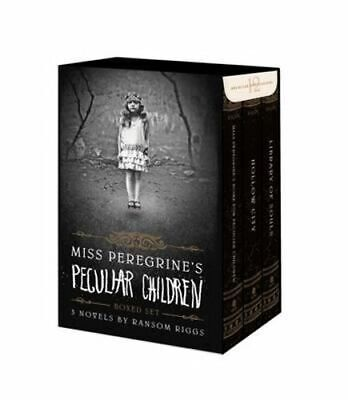 NEW Miss Peregrine's Peculiar Children Boxed Set By Ransom Riggs Free Shipping