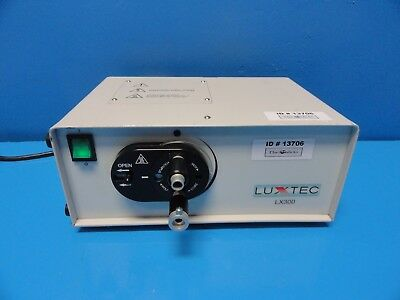 Luxtec Lx300 Portable Fiber Optic Light Source P/n 400791 ~13706