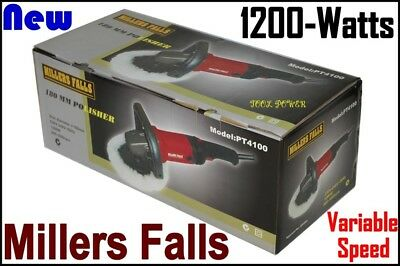 Sander Polisher MILLERS FALLS, 1200-watts, Brand New PROVEN MODEL+++++++++++++++