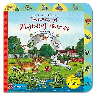 Treasury of rhyming stories by Axel Scheffler (Board book)