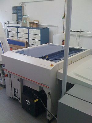AGFA Autolith TP105, thermal processor include chiller