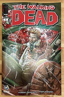 WALKING DEAD #1 Philadelphia 2015 Wizard World Comic Con Exclusive Variant Mann