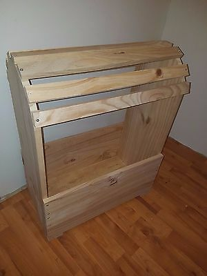 Wooden Saddle Stand with storage box    ~Horses ~Equestrian ~Tack~