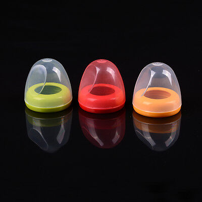 Non-Dust Screw Cover Cap for Newborn Baby Wide Mouth Milk Bottle New M&C