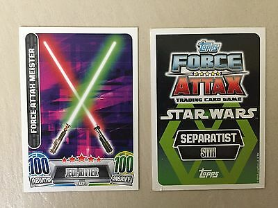 LE 7 - Star Wars Force Attax Serie 2