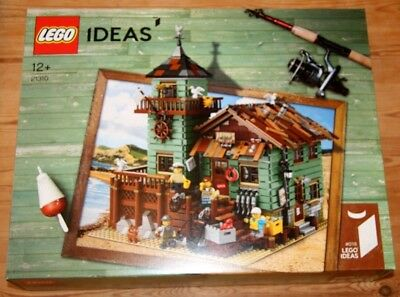 NEW Sealed LEGO IDEAS 21310 Old Fishing Store 2049 Pieces