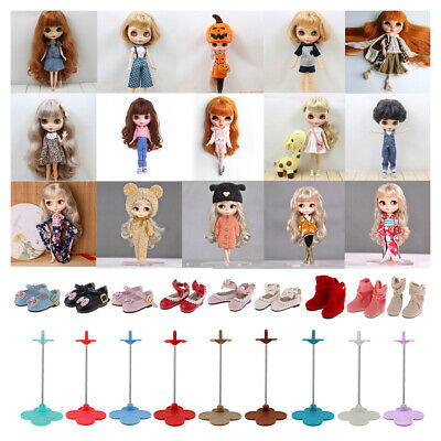 NEW Doll Accessories Dress Outfit Shoes Display Stand for 12'' Blythe Aone Dolls